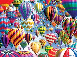 Sky Roads (Vivid Collection) Balloons Jigsaw Puzzle