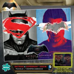 Batman vs. Superman Super-heroes Jigsaw Puzzle