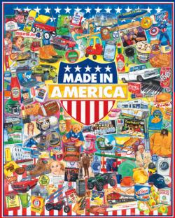 Made In America Collage Jigsaw Puzzle
