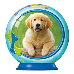 Animal Babies 54pc Puzzleball - Puppy Dogs Puzzleball