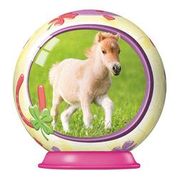Animal Babies 54pc Puzzleball - Horse Horses Puzzleball