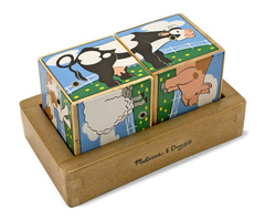 Farm Sound Blocks Farm Animals Children's Puzzles
