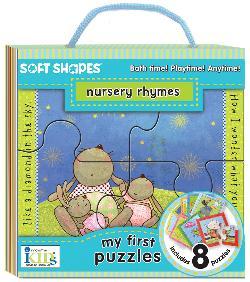 Nursery Rhymes (Soft Shapes) Cartoons Chunky / Peg Puzzle