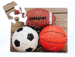 Sports (12pc) Dementia / Alzheimer's Large Piece