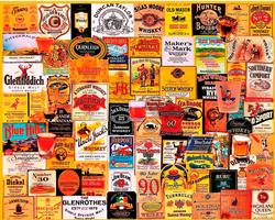 Great Whiskies Food and Drink Jigsaw Puzzle