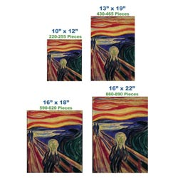The Scream Contemporary & Modern Art Wooden Jigsaw Puzzle