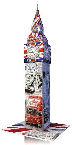Big Ben - Flag Edition London 3D Puzzle