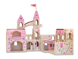 Folding Princess Castle Princess Toy