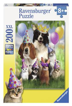 Animal Party Dogs Jigsaw Puzzle