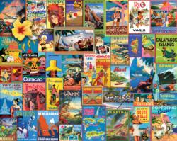 Exotic Places Collage Jigsaw Puzzle