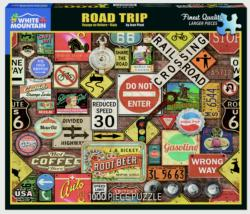 Road Trip Collage Jigsaw Puzzle