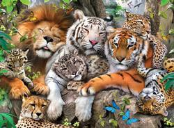 Big Cat Nap Tigers Children's Puzzles