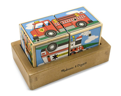 Vehicles Sound Blocks Vehicles Wooden Jigsaw Puzzle