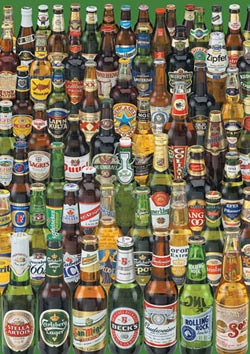 Beers Adult Beverages Impossible Puzzle