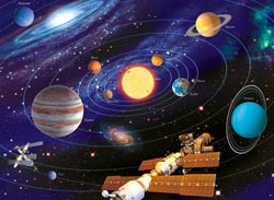 The Solar System Science Children's Puzzles