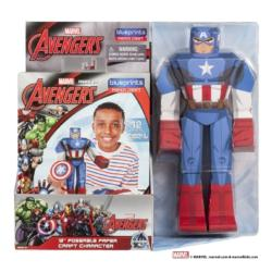 Marvel Blueprints - Captain America Super-heroes Toy