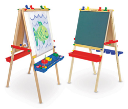 Deluxe Wooden Standing Art Easel Arts and Crafts