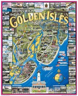 Golden Isles of Georgia United States Jigsaw Puzzle