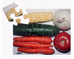 Vegetables (12pc) Dementia / Alzheimer's Large Piece