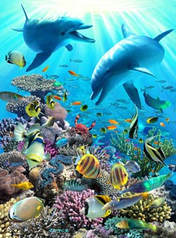 Underwater Adventure Fish Children's Puzzles