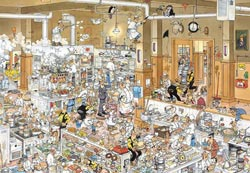 The Kitchen People Jigsaw Puzzle