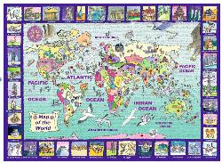 Looking at the World Maps Jigsaw Puzzle