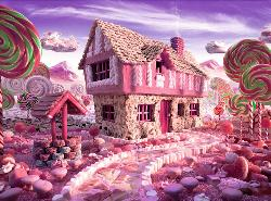 Candy Cottage Cottage/Cabin Jigsaw Puzzle