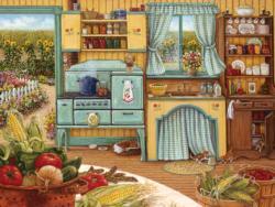 New! Country Kitchen Nostalgic / Retro Jigsaw Puzzle