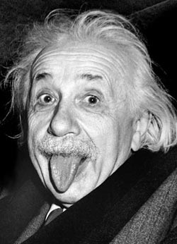 Einstein's Tongue - Scratch and Dent Famous People Jigsaw Puzzle