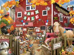 Barn Sale Collage Jigsaw Puzzle
