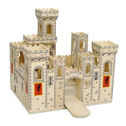 Folding Medieval Castle Toy