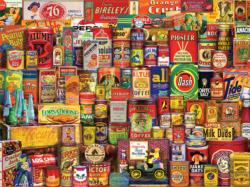 Favorite Brands Collage Jigsaw Puzzle