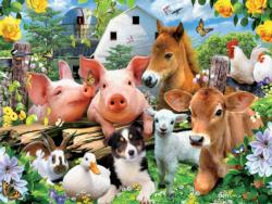 Farm Friends Farm Jigsaw Puzzle
