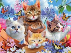 Garden Wonders Cats Jigsaw Puzzle