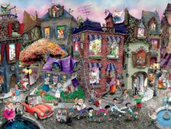 Night Celebration by Mark Ludy People Jigsaw Puzzle