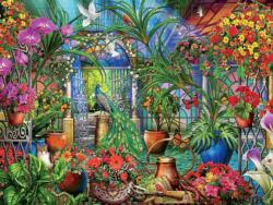 Tropical Greenhouse Garden Jigsaw Puzzle