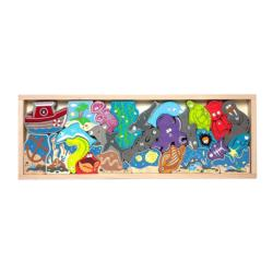 Ocean A to Z Puzzle Educational Children's Puzzles