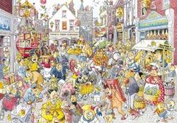 Wasgij - Destiny #10 High Street Hussle Wasgij Jigsaw Puzzle
