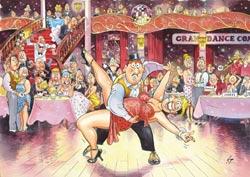 Wasgij #17: Ballroom Blushes Wasgij Jigsaw Puzzle