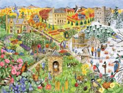 English Country Life through the seasons Summer Jigsaw Puzzle