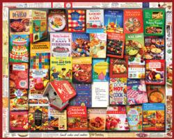 Cookbooks (General Mills) Collage Jigsaw Puzzle
