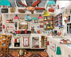 Retro Kitchen Nostalgic / Retro Jigsaw Puzzle