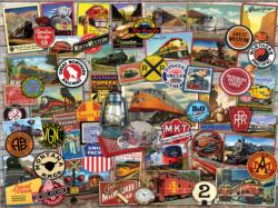 All Aboard Collage Jigsaw Puzzle