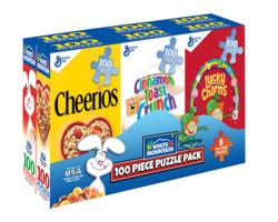 Mini Cereal Puzzles Nostalgic / Retro Multi-Pack