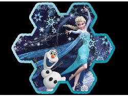Elsa's Snowflake Frozen Children's Puzzles