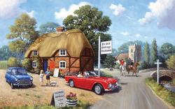 Stop for Tea Europe Jigsaw Puzzle