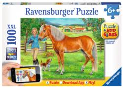 My Favorite Horse Horses Jigsaw Puzzle
