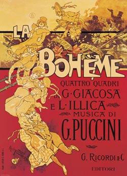 Hohenstein-Puccini-La Boheme Nostalgic / Retro Jigsaw Puzzle