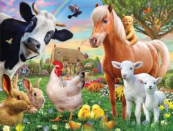 Farm Aminals Summer Children's Puzzles