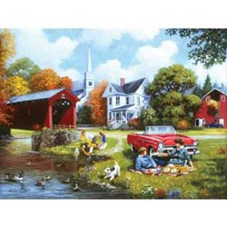 Lazy Days Summer Jigsaw Puzzle